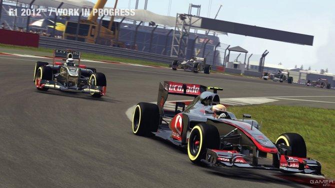 Скриншот игры F1 2012