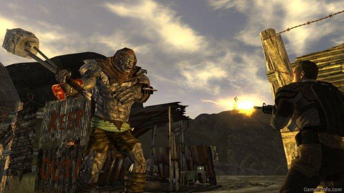 Скриншот игры Fallout: New Vegas