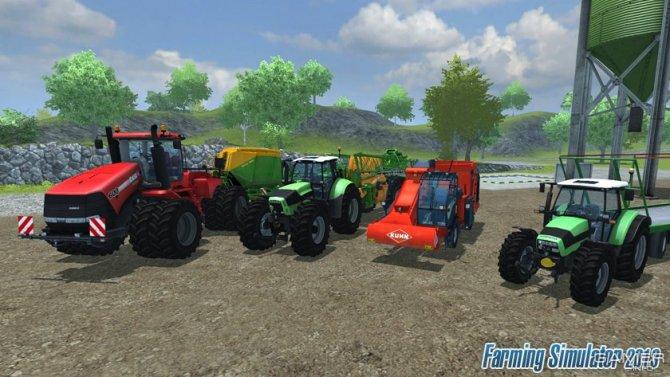 Скриншот игры Farming Simulator 2013