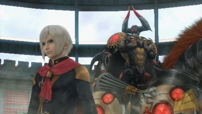 Скриншот игры Final Fantasy Type 0