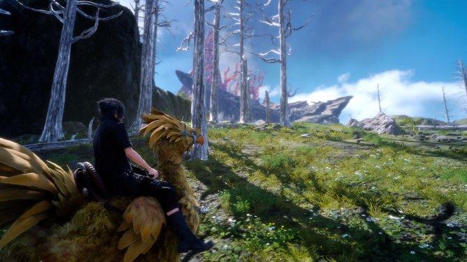Скриншот игры Final Fantasy XV