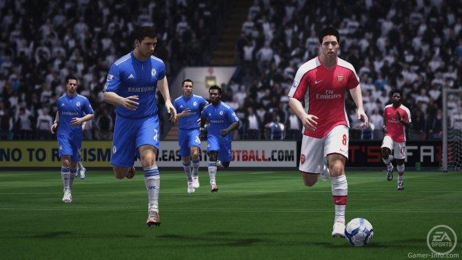 Скриншот игры FIFA 11
