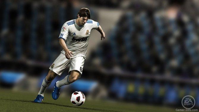 Скриншот игры FIFA 12