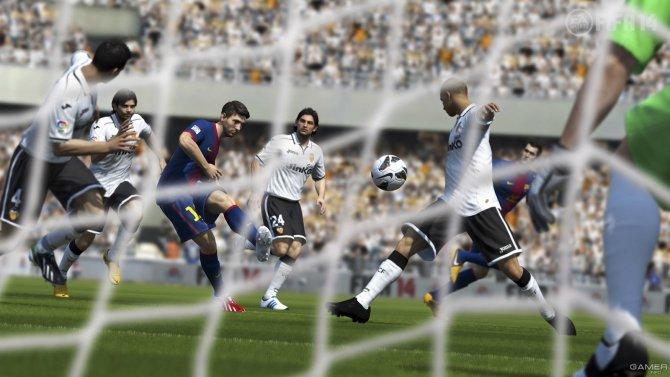 Скриншот игры FIFA 14