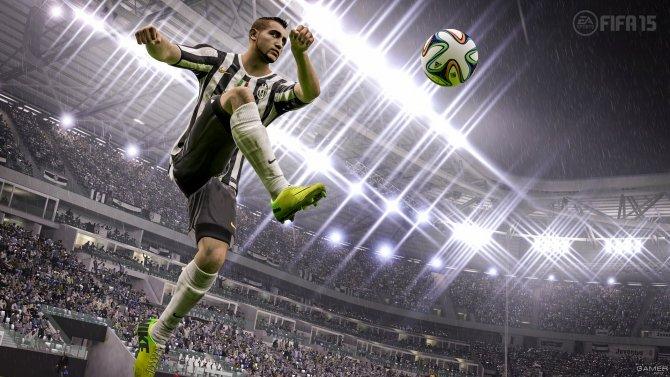 Скриншот игры FIFA 15