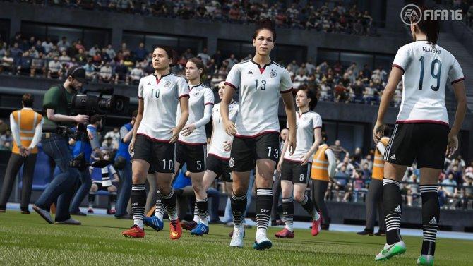 Скриншот игры FIFA 16