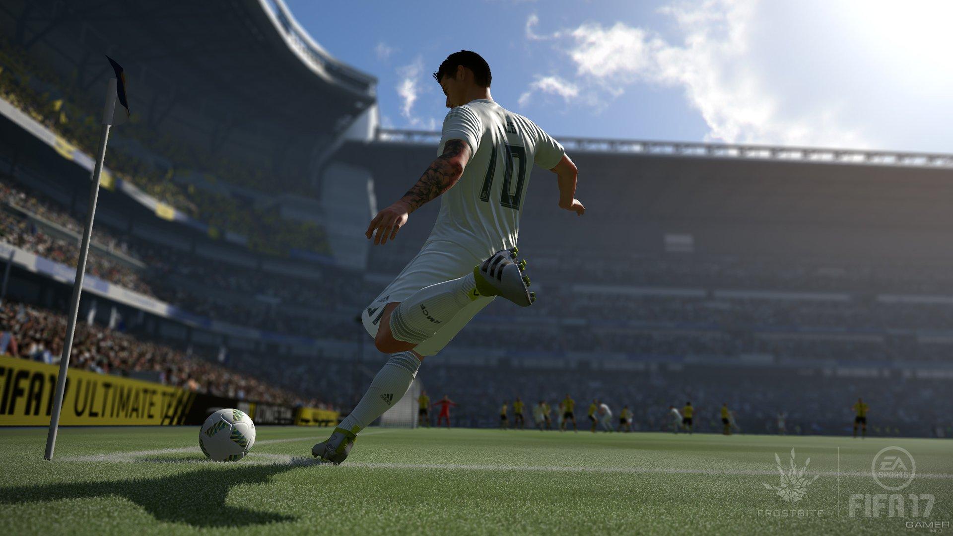 Подробности демоверсии FIFA 17