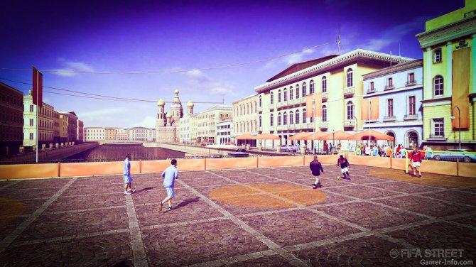 Скриншот игры FIFA Street