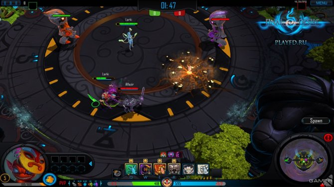 Скриншот игры Final Desire