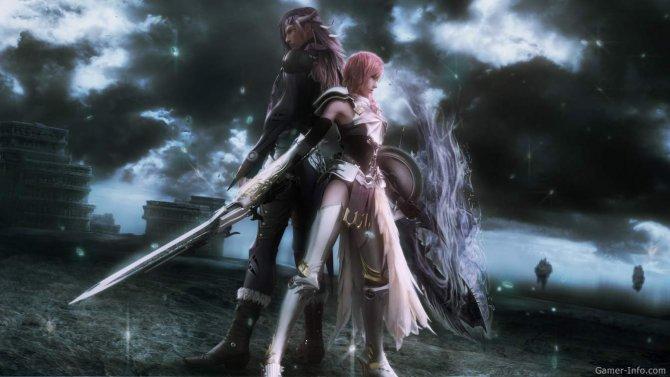 Скриншот игры Final Fantasy XIII-2
