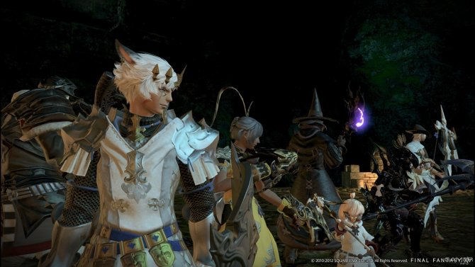 Скриншот игры Final Fantasy XIV: A Realm Reborn