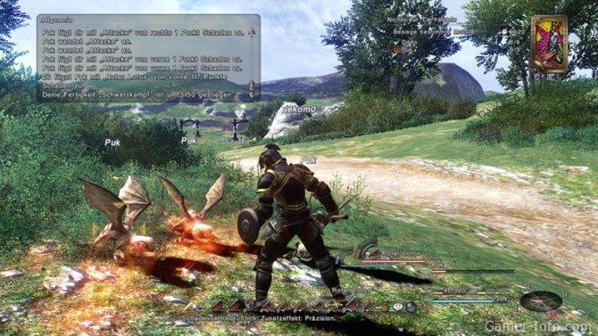 Скриншот игры Final Fantasy XIV