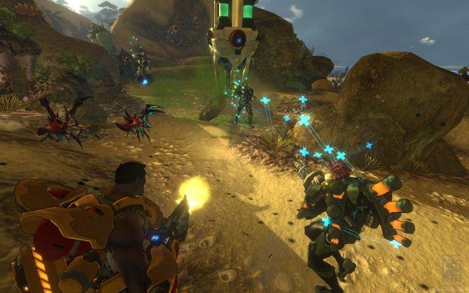 Скриншот игры Firefall