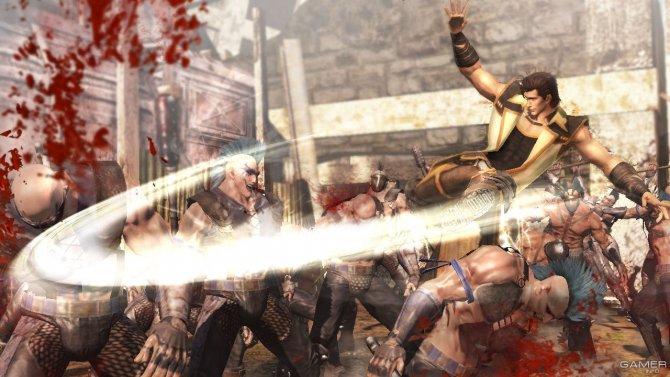 Скриншот игры Fist of the North Star: Ken's Rage 2