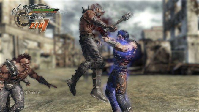 Скриншот игры Fist of the North Star: Ken's Rage