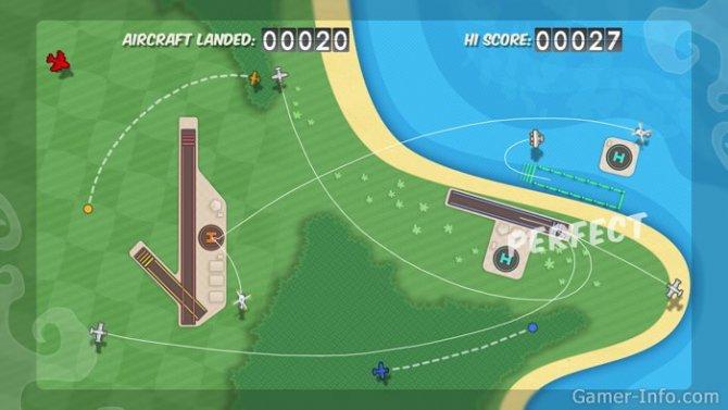 Скриншот игры Flight Control HD
