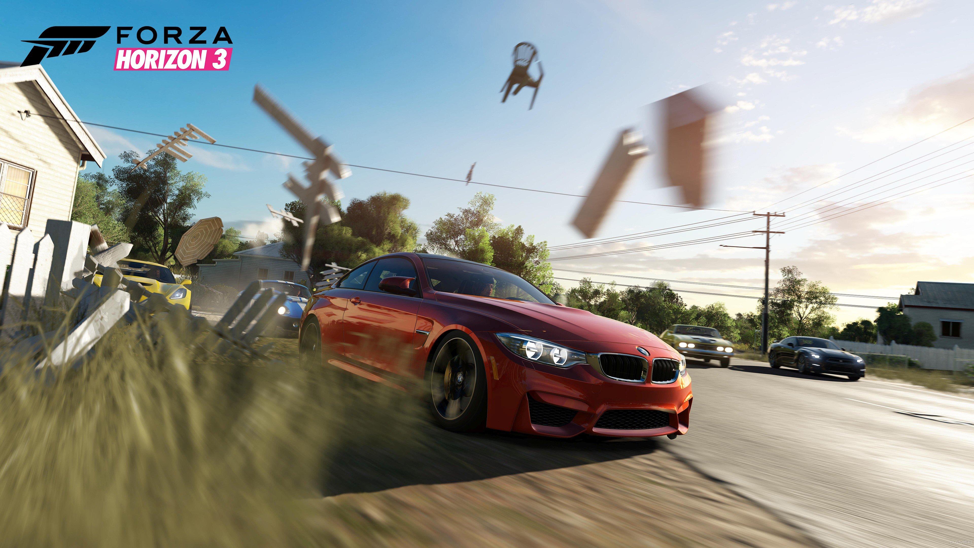 Скоро выйдет демоверсия Forza Horizon 3