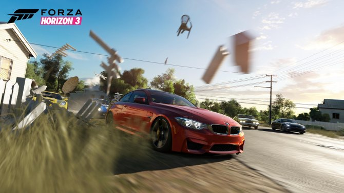 Скриншот игры Forza Horizon 3