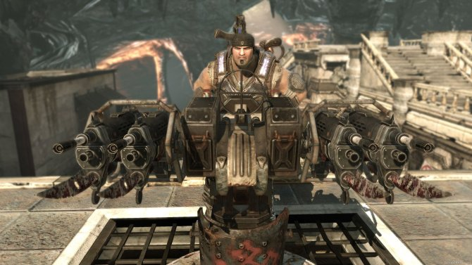 Скриншот игры Gears of War 3