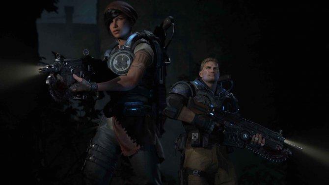 Скриншот игры Gears of War 4