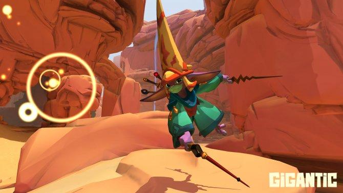 Скриншот игры Gigantic