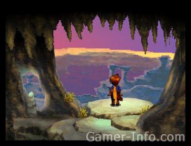 Скриншот игры Golden Sun: Dark Dawn