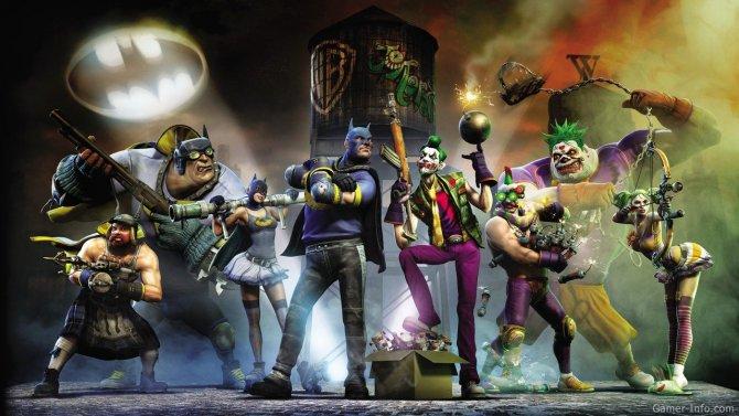 Скриншот игры Gotham City Impostors