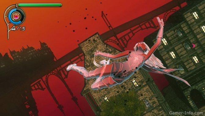 Скриншот игры Gravity Rush