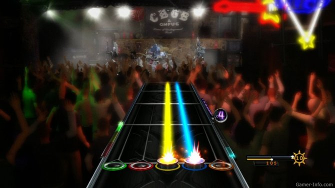 Скриншот игры Guitar Hero: Warriors of Rock
