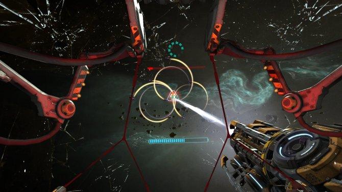 Скриншот игры Gunjack