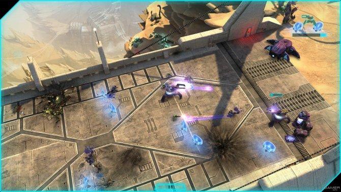 Скриншот игры Halo: Spartan Assault