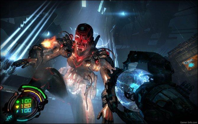 Скриншот игры Hard Reset