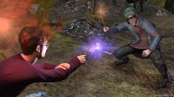 Скриншот игры Harry Potter and the Deathly Hallows: Part 1