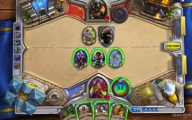 Скриншот игры Hearthstone: Heroes of Warcraft
