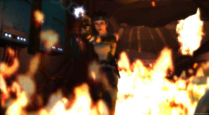 Скриншот игры Hydrophobia Prophecy
