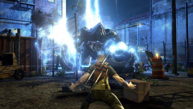 Скриншот игры inFamous 2