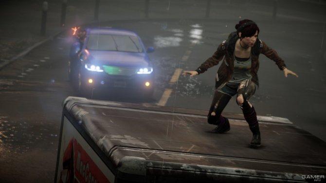 Скриншот игры inFAMOUS First Light