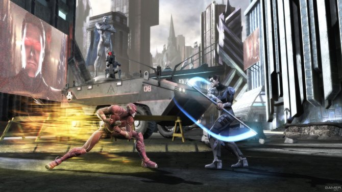 Скриншот игры Injustice: Gods Among Us