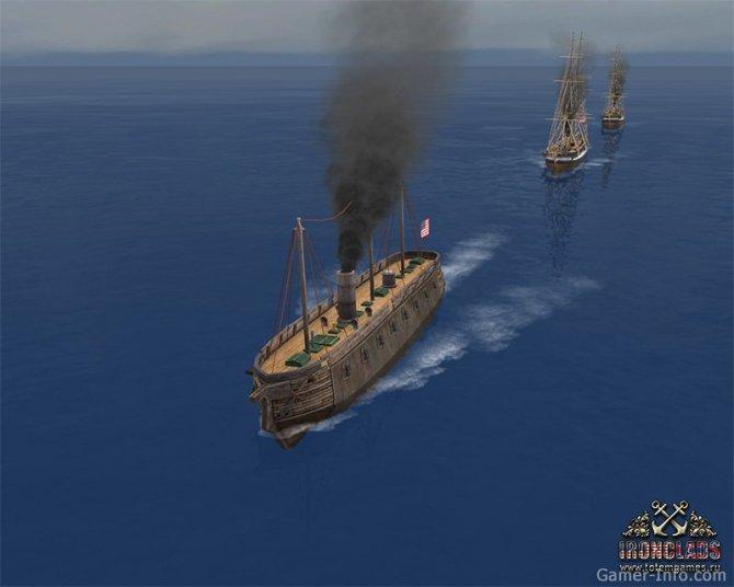 Скриншот игры Ironclads: High Seas