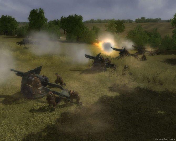 Скриншот игры Искусство войны. Битва за Кан