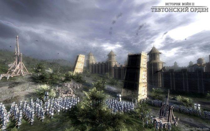 Скриншот игры Тевтонский орден