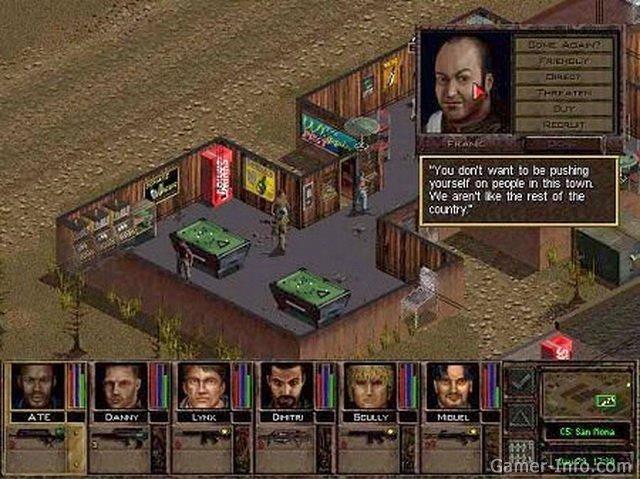 Jagged alliance 2 : агония власти) - компьютерная тактическая ролевая игра