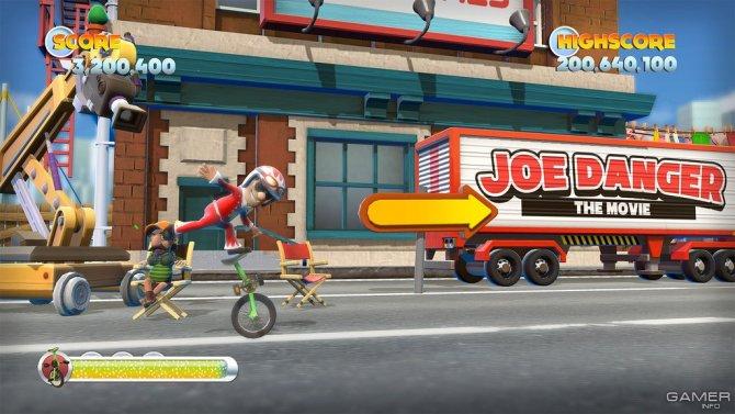 Скриншот игры Joe Danger 2: The Movie