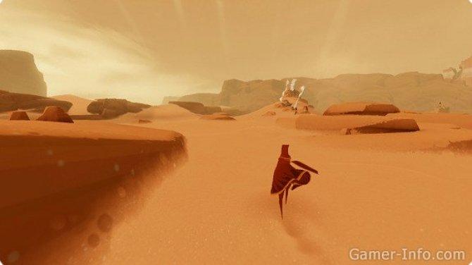 Скриншот игры Journey