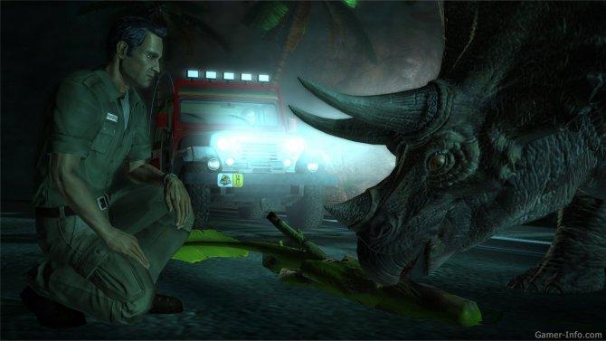 Скриншот игры Jurassic Park: The Game