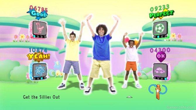 Скриншот игры Just Dance Kids