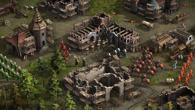 Скриншот игры Казаки 3