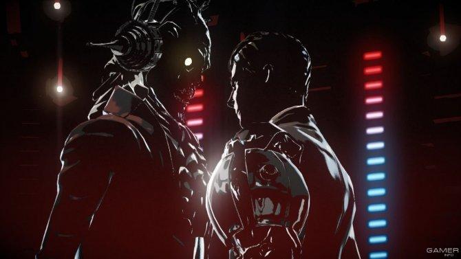 Скриншот игры Killer is Dead