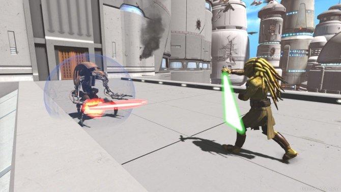 Скриншот игры Kinect Star Wars