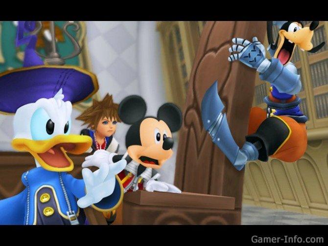 Скриншот игры Kingdom Hearts Re:coded